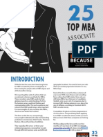 TOP 25 MBA Associate Schemes
