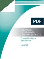 Educacion Basica Secundaria Espanol