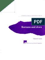 Koreans and Jews