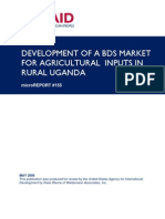 mR 155 - Development of a BDS Market for Agricultural Inputs in Rural Uganda