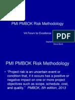 PMI Risk Methdology Bonk