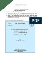 Format Dan Ketentuan Tugas Laporan