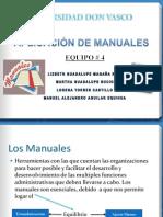 Manuales gestión