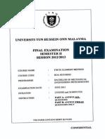Sem 2 1213 Final Exam