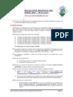 Bases Regional Juvenil Norte 2015 - Sullana