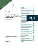 Siemens - Function Block Diagram for Logic