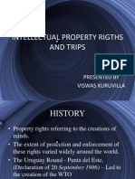 Intellectual Property Rights and Trips