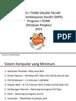 Kursus I-THINK Dalam Talian (KiDT)2014 - Panduan Pengguna