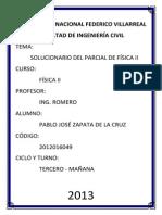 Solucionario Del Examen Parcial de Física II