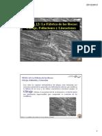 Tema 13 La Fabrica de Las Rocas Clivaje f l