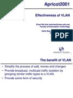 Effectiveness of VLAN