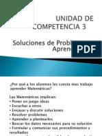 Unidad 3 Soluciones de Problemas y Aprendizaje