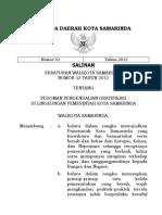 BD. Perwali No.32 Th.2012 Ttg Pengendalian Gratifikasi.salinan