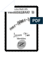 Trigonometry II Lesson 2