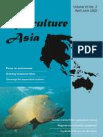 Aquaculture Asia April June 2002