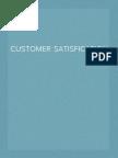 customer satisfication