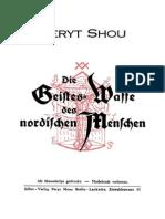 Shou Peryt_Die Geisteswaffe Des Nordischen Menschen