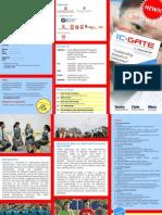 Brochure ICGATE 2014