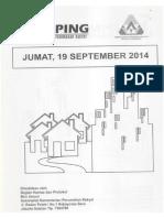 Kliping Berita Perumahan Rakyat, 19 September 2014