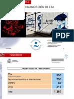 FINANCIACIÓN DE ETA - BLANQUEO DE CAPITALES