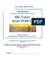 2014 08 30 VCAC Hearing God Retreat Notes