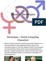 Sexuality Stereotypes