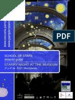 Starry night at the museum (Educación Secundaria - Bachillerato - School of stars - Pamplonetario)