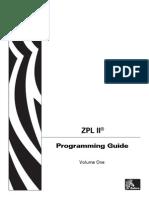 Zebra Programming Language (ZPL-II)
