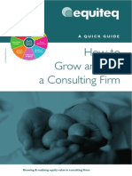 How to Grow and Sell a Consulting Firm