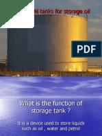 Welded Steel Tanks for Storage Oil