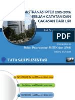 Presentasi Ka LIPI Jakstranas, 3 Juni 2013