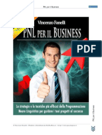 Manuale PNL Business Vincenzo Fanelli Www PiuChePuoi It