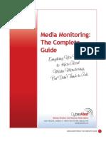 Media Monitoring Whitepaper
