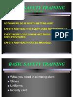Basic Safety Training