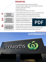 Woolworths Investor Day Presentation