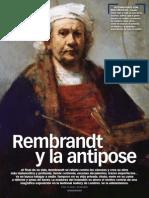 Rembrandt y La Antipose
