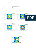 Analysis of Square Plate