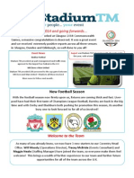 Stadium TM Newsletter