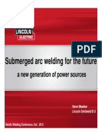 Harm Melker, Lincoln Submerged Arc Welding ...