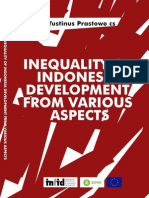 Inequality of Indonesian Development from variuos Aspect