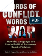 [Fathali Moghaddam, Rom Harre] Words of Conflict