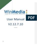 Winmedia 2.12 User Manual v 2 En