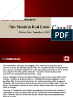 This Month in Real Estate December Canada