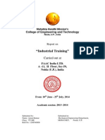 Industrial Training FAAC