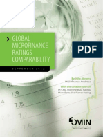 Final Report Global Microfinance Ratings Comparability