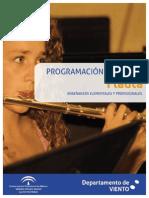 Programacion de Flauta Literatura Repertorio