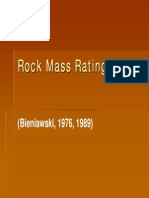 Rock Mass Rating (RMR)