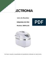 Livro Receitas Maq. Pao Electronia XBM1129_1235447