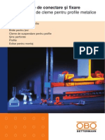 Sisteme OBO de Cleme Pentru Profile Metalice