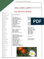 Lista de Nomes de Flores a-I